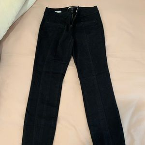 Loft black jeggings/ jeans! So comfy!